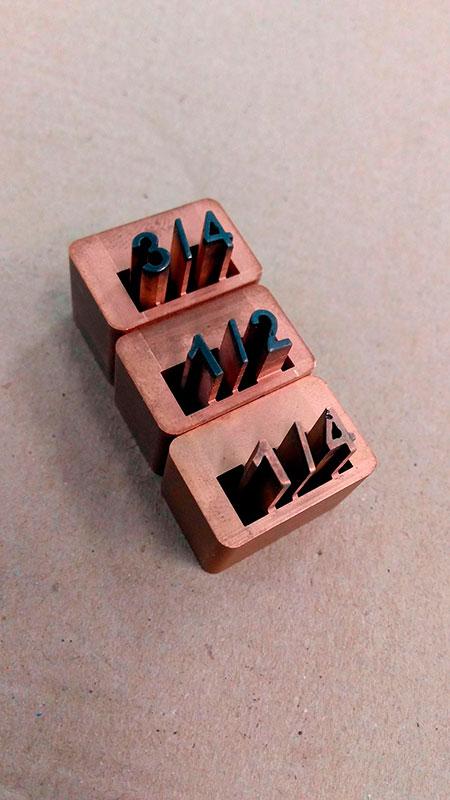 Fabricação de moldes para indústria farmacêutica