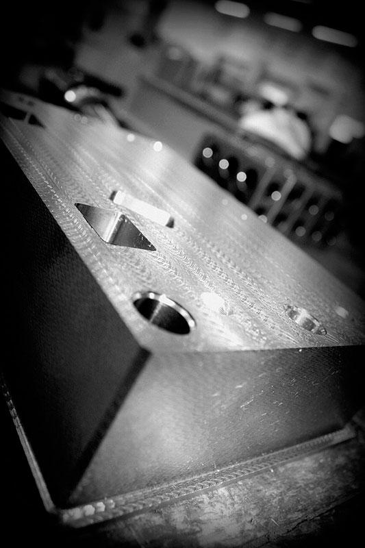 Manutenção de moldes de injeção